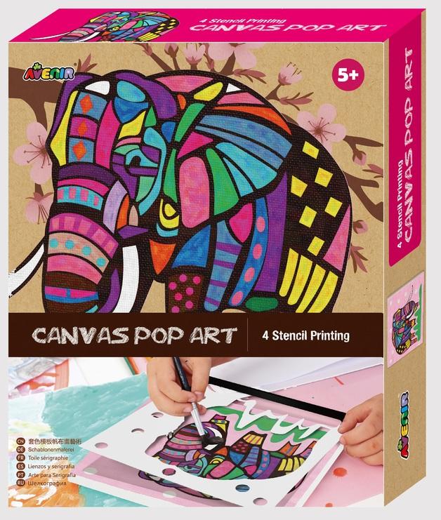 Avenir: Canvas Pop Art Kit - Elephant