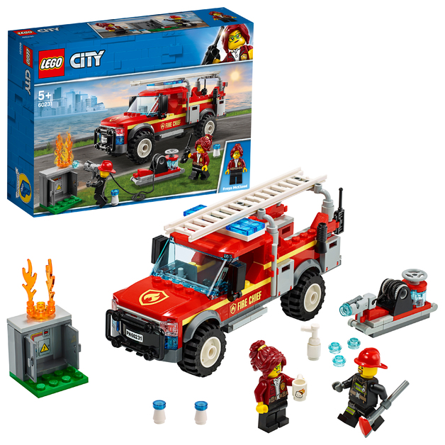 LEGO City: Fire Chief Response Truck - (60231)