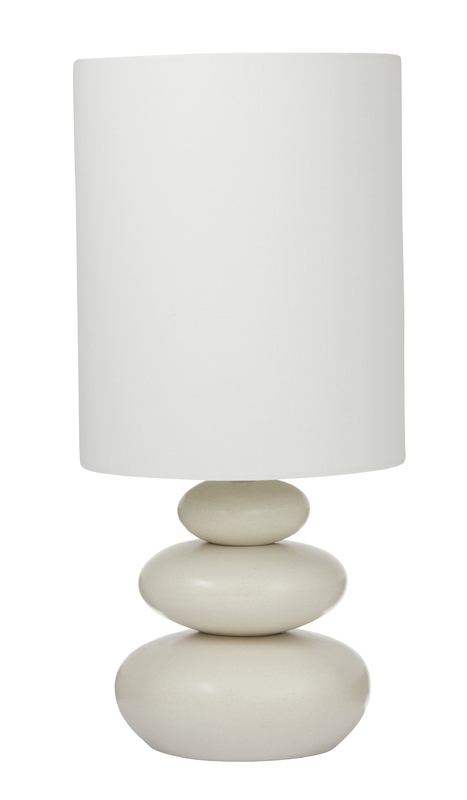 Amalfi: Pebble Table Lamp (29x29x62cm)