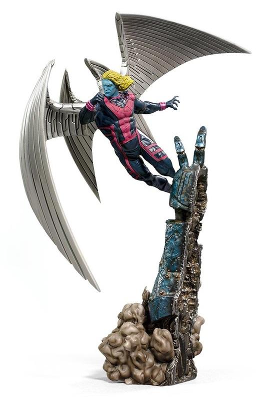 X-Men: Archangel - Battle Diorama Statue