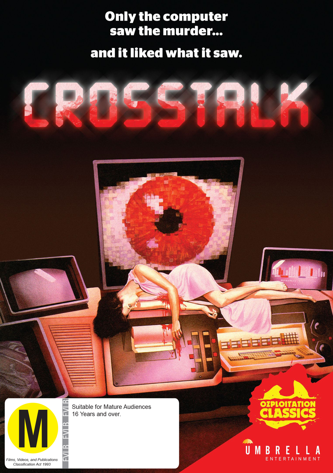 Crosstalk on DVD image