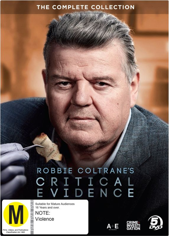 Robbie Coltrane's Critical Evidence Complete Collection on DVD