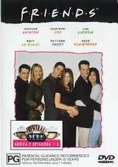 Friends Series 2 Vol 1 on DVD