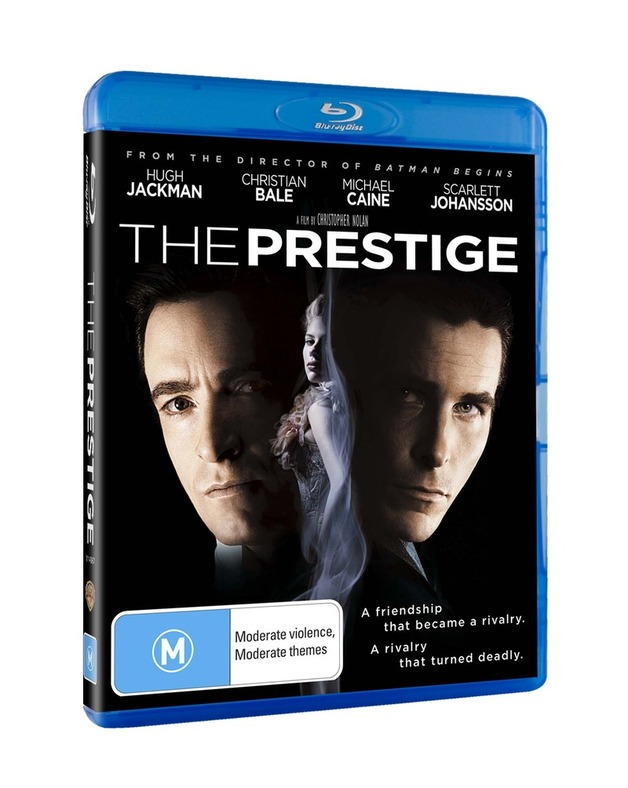 The Prestige on Blu-ray