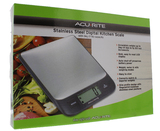 Acurite - Stainless Steel Digital Kitchen Scales