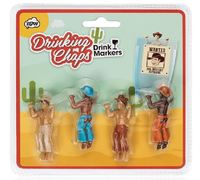 Drinking Chaps Drink Markers (set of 4)