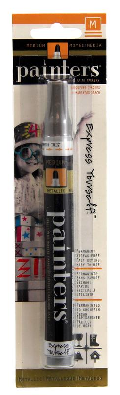 Painters Acrylic Paint Markers - Silver Medium