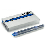Lamy T10 Ink Cartridges Blue (5 Pack)