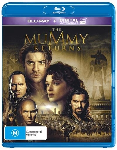 The Mummy Returns on Blu-ray
