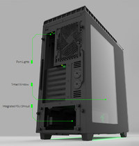 NZXT H440 Mid Tower Case - Razer Special Edition image