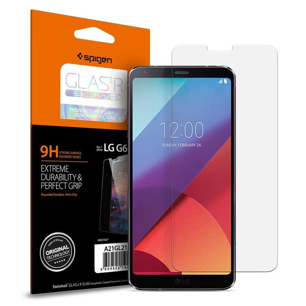 Spigen: LG G6 - Premium Tempered Glass Screen Protector