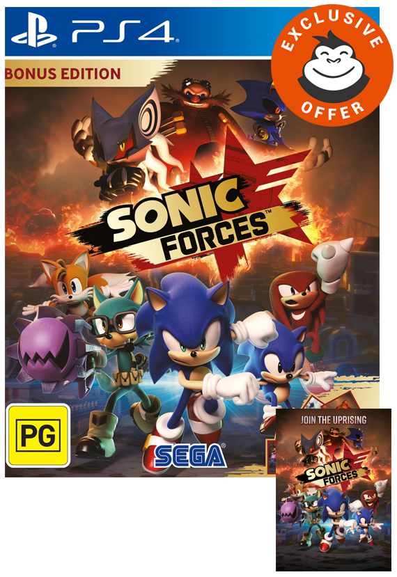 Sonic Forces Bonus Edition for PS4 image