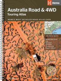 Australia Road and 4WD touring atlas A4
