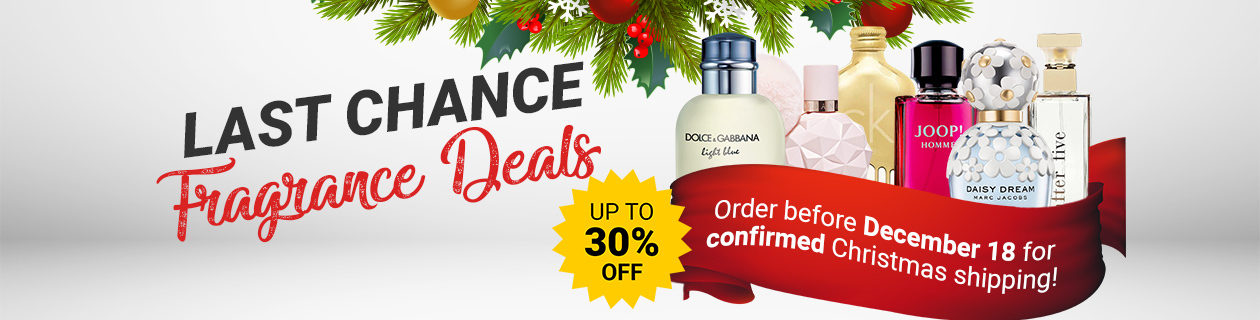 Scent-Sational Christmas Fragrance Deals!