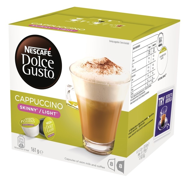 Nescafe: Dolce Gusto - Skinny Cappucino (3 x 8-Pack)