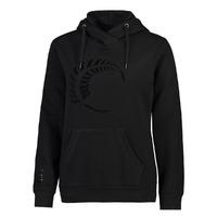 Silver Ferns Womens Graphic Hoodie- Black (XL)