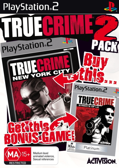 True Crime / True Crime 2 Double Pack for PlayStation 2