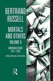 Mortals and Others: Volume 2 by Bertrand Russell image