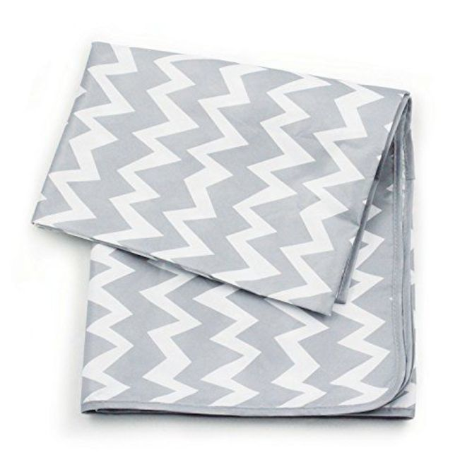 Waterproof Splat Mat - Grey Chevron image