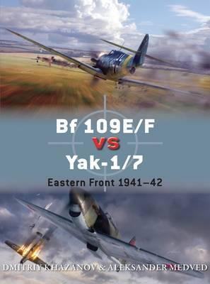 Bf 109E/F vs Yak-1/7 by Dmitriy Khazanov
