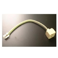 RJ45 Duplex Adapter with Cable 1M-2F
