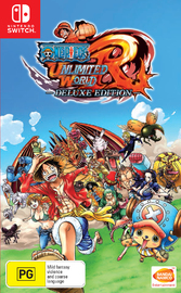 One Piece Unlimited World - Red Deluxe Edition for Nintendo Switch