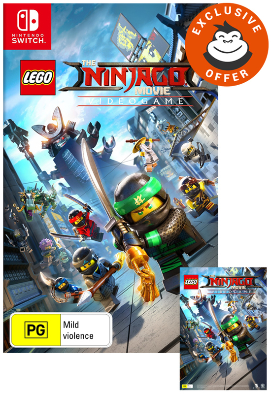 LEGO Ninjago Movie for Nintendo Switch