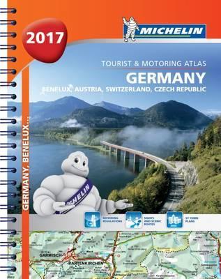Germany/Austria Atlas 2017 by Michelin