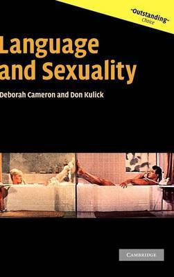 Language and Sexuality by Deborah Cameron