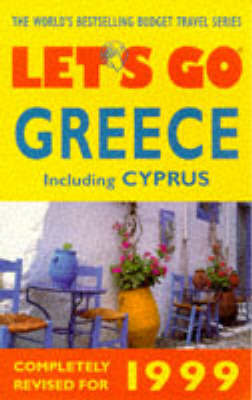 Let's Go Greece 1999 by Let's Go image