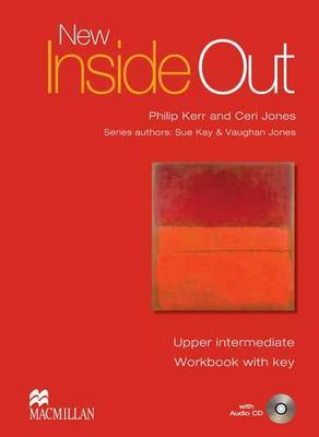 New Inside Out: Work Book + Key Pack: Upper -intermediate by Sue Kay image