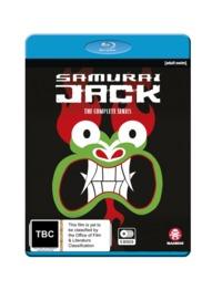 Samurai Jack - The Complete Seasons 1-5 on Blu-ray