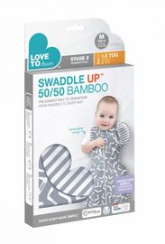 Swaddle UP Transition 50/50 Bamboo - Grey (Extra Large)