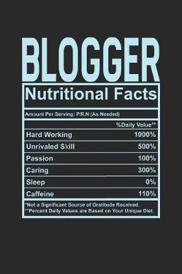 Blogger Nutritional Facts by Dennex Publishing