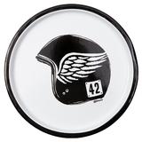 Cafe Racer Enamel Plate (Black)
