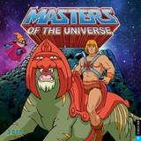 He-Man and the Masters of the Universe 2018 Wall Calendar by Mattel