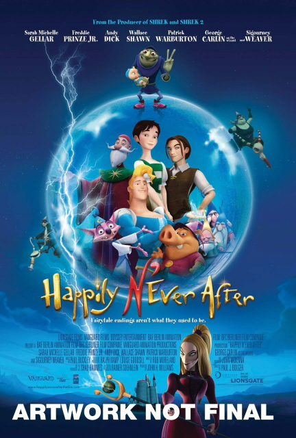 Happily N'Ever After on DVD image