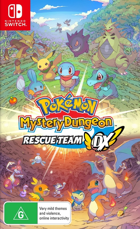 Pokemon Mystery Dungeon: Rescue Team DX for Switch