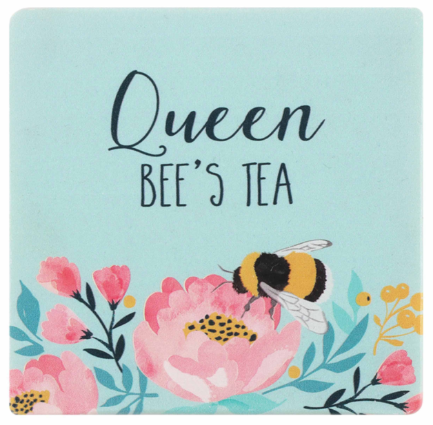 Queen Bee's Tea Coaster