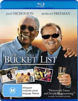 The Bucket List on Blu-ray