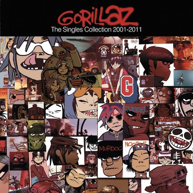 The Singles Collection 2001 - 2011 (CD/DVD) by Gorillaz