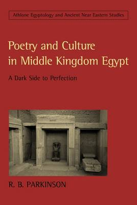 Poetry and Culture in Middle Kingdom Egypt: A Dark Side to Perfection by R.B. Parkinson image
