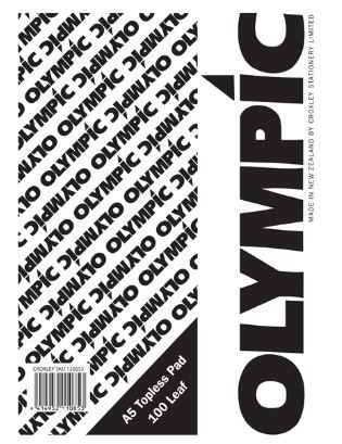 Olympic A5 Topless Pad (Pack of 10)