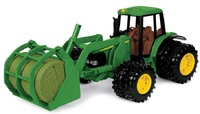 John Deere: 20cm 7220 Tractor with Bale Mover