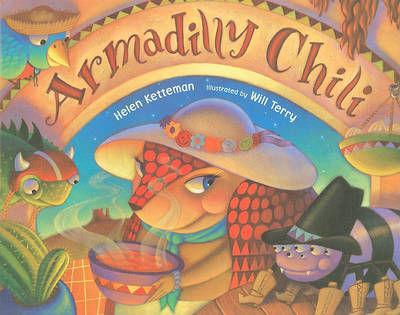 Armadilly Chili Book and DVD Set by Helen Ketteman image