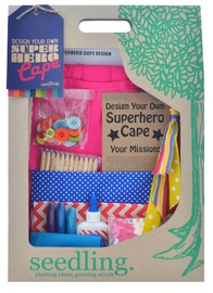 Seedling: Design your own Superhero Cape - Pink