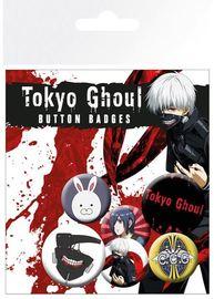 Tokyo Ghoul Pin Badges (6-Pack)