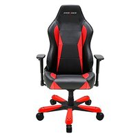DXRacer Wide Series WY0 Gaming Chair (Black and Red) for