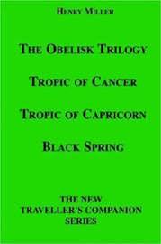 The Obelisk Trilogy by Henry Miller image