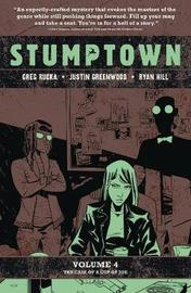 Stumptown, Vol. 4: The Case of a Cup of Joe by Greg Rucka